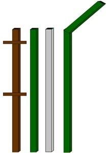 изготовление металлические столбы в Копейске