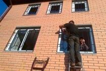 Монтаж решеток в Копейске