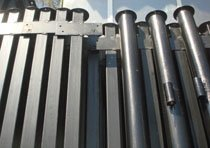 Металлические столбы в Копейске изготовление и монтаж г.Копейск