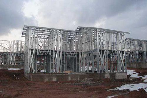 Здания на основе облегчённого металлического каркаса в Копейске